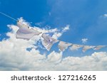 Stock photo clothes line 127216265