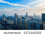 a bird 's eye view of a modern... | Shutterstock . vector #1272165202