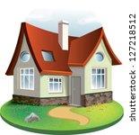 vector illustration  house icon ...