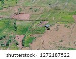 agriculture in covo crater on... | Shutterstock . vector #1272187522
