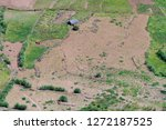 agriculture in covo crater on... | Shutterstock . vector #1272187525
