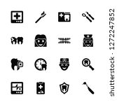 vector illustration of 16 icons....   Shutterstock .eps vector #1272247852
