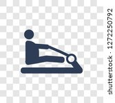 rowing machine icon. trendy... | Shutterstock .eps vector #1272250792