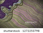 abstract waves background.... | Shutterstock .eps vector #1272253798