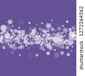xmas sales with ultraviolet... | Shutterstock .eps vector #1272264562