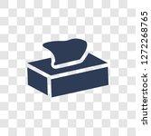 tissue icon. trendy tissue logo ... | Shutterstock .eps vector #1272268765