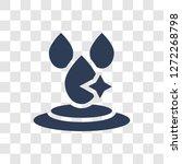 purity icon. trendy purity logo ... | Shutterstock .eps vector #1272268798