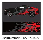 car wrap. abstract strip for...   Shutterstock .eps vector #1272271072