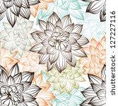 seamless floral pattern   Shutterstock . vector #127227116