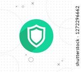 shield icon  vector best flat...   Shutterstock .eps vector #1272296662