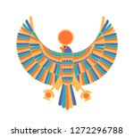 ra   god  creator  deity or... | Shutterstock .eps vector #1272296788