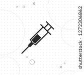 syringe icon  vector best flat...   Shutterstock .eps vector #1272306862