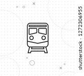 subway icon  vector best flat...   Shutterstock .eps vector #1272306955