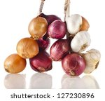 Bunch Bundle Of Onion And...