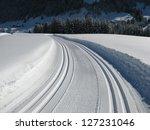 cross country skiing in austria | Shutterstock . vector #127231046