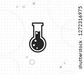 test glass icon  vector best...   Shutterstock .eps vector #1272316975