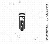 test tube icon  vector best...   Shutterstock .eps vector #1272318445