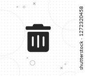 dustbin  trash bin vector best...   Shutterstock .eps vector #1272320458