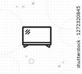 tv icon  vector best flat icon...   Shutterstock .eps vector #1272320845