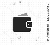 wallet vector best flat icon on ...   Shutterstock .eps vector #1272326452