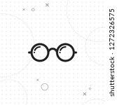 vector round glasses icon ...   Shutterstock .eps vector #1272326575