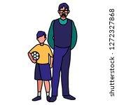 man and boy design   Shutterstock .eps vector #1272327868