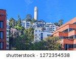 coit tower san francisco... | Shutterstock . vector #1272354538