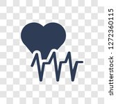 cardiogram icon. trendy... | Shutterstock .eps vector #1272360115