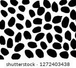 brush grunge pattern. white and ... | Shutterstock .eps vector #1272403438