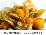 group of cape gooseberry  phys... | Shutterstock . vector #1272429565