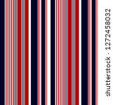 stripe pattern with navy blue... | Shutterstock .eps vector #1272458032