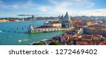 venetian cityscape by day. view ... | Shutterstock . vector #1272469402