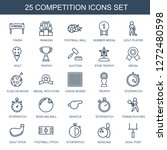 25 competition icons. trendy... | Shutterstock .eps vector #1272480598