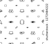 meat icons pattern seamless... | Shutterstock .eps vector #1272484222