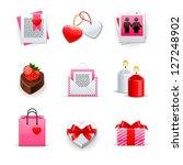 love icons set | Shutterstock .eps vector #127248902