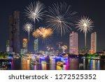 bangkok  thailand   jan 1  2019 ... | Shutterstock . vector #1272525352