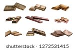 watercolor drawing chocolate... | Shutterstock . vector #1272531415