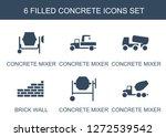 6 concrete icons. trendy...   Shutterstock .eps vector #1272539542