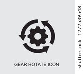 gear rotate icon . editable... | Shutterstock .eps vector #1272539548