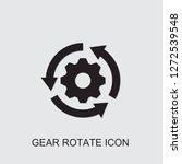 gear rotate icon . editable... | Shutterstock .eps vector #1272539548