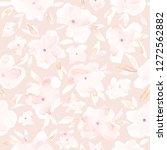elegant watercolor abstract... | Shutterstock . vector #1272562882