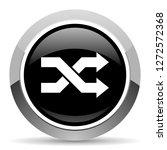 aleatory vector steel icon.... | Shutterstock .eps vector #1272572368