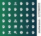 psychology icon set. collection ...   Shutterstock .eps vector #1272580555