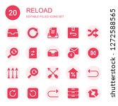 reload icon set. collection of...
