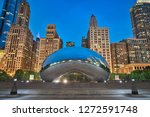 photo of the millenium park at...