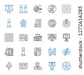 strategy icons set. collection... | Shutterstock .eps vector #1272616285