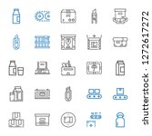carton icons set. collection of ... | Shutterstock .eps vector #1272617272