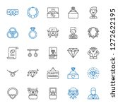 engagement icons set.... | Shutterstock .eps vector #1272622195