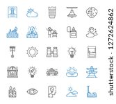 light icons set. collection of...   Shutterstock .eps vector #1272624862