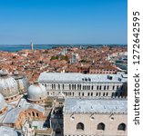 Europe Italy View Tiled Red - Fine Art prints